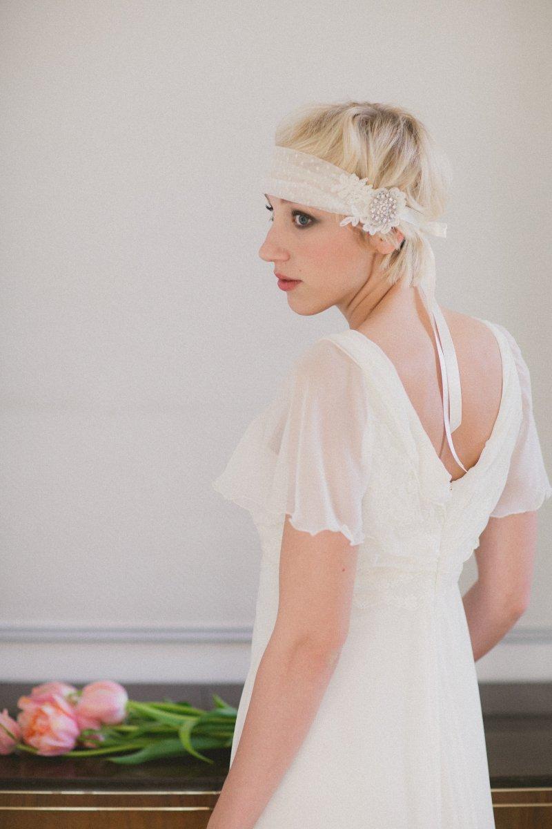 Brautfrisuren fr kurze Haare