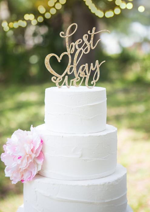 Cake Topper fr Eure Hochzeitstorte
