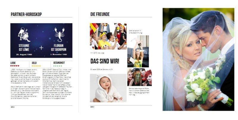 Die Hochzeitszeitung Ideen und Themenvorschlge