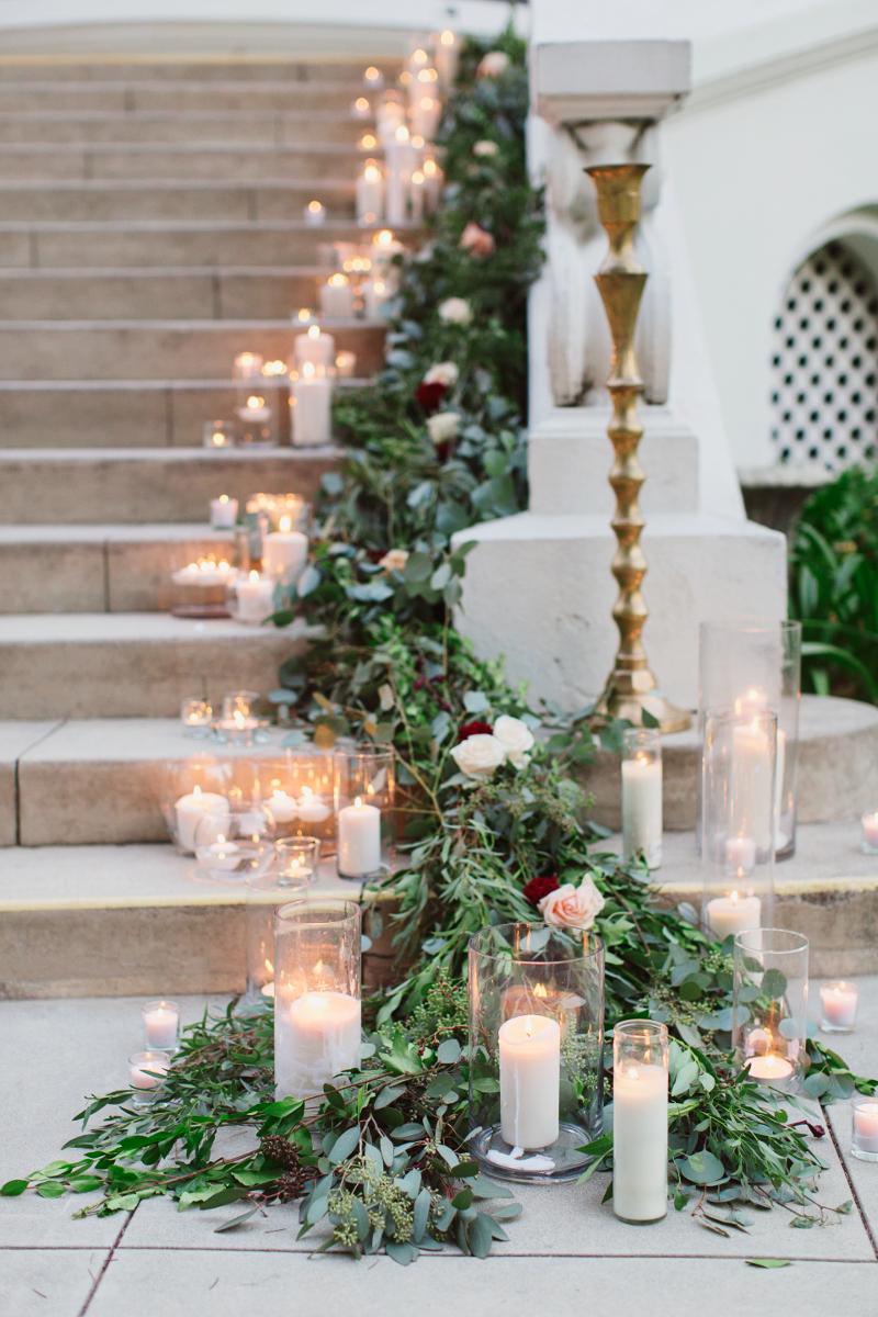 Hochzeitsdekoration Winter