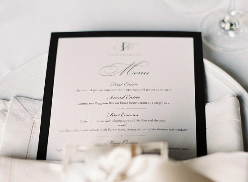 Menkarten zur Hochzeit
