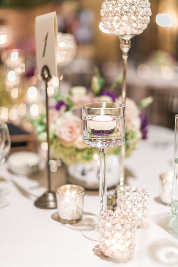 Tischdeko mit Kerzen fr Eure Hochzeit