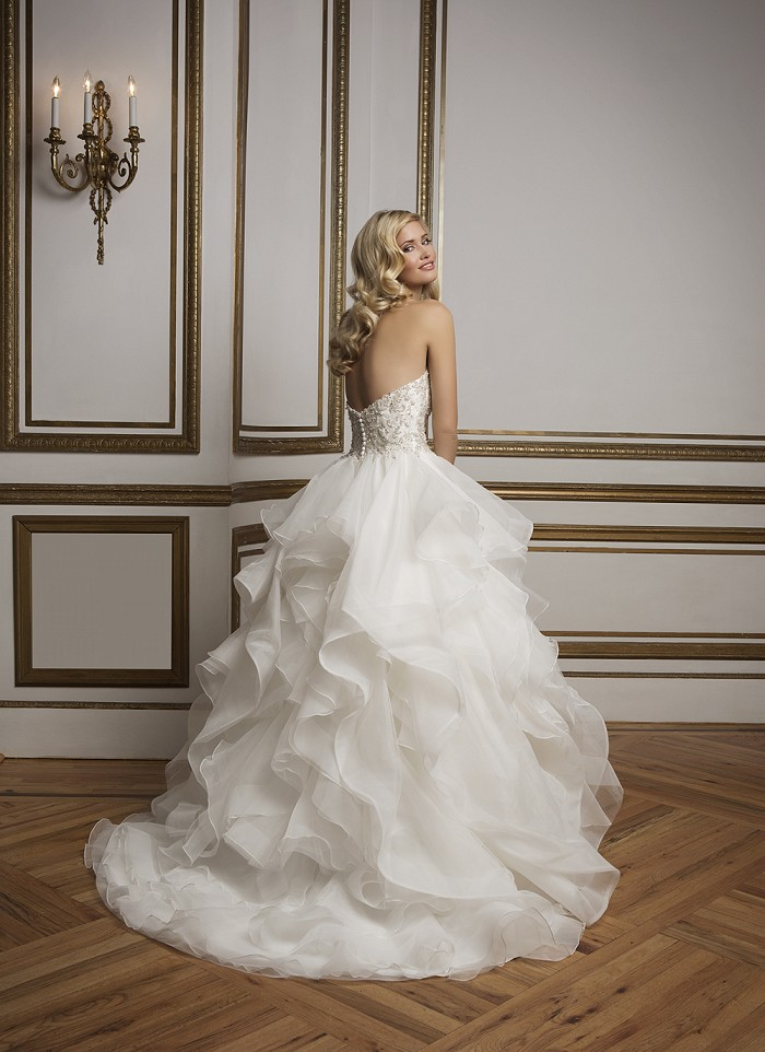 Pompöse Brautkleider Aktuelle Trends