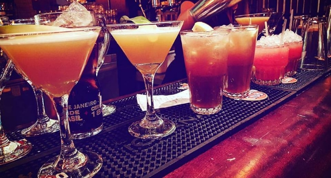 cocktails from Las Iguanas in Leicester