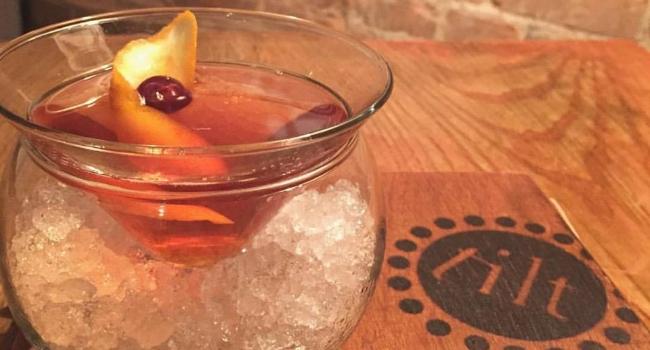 cocktail from tilt in nottingham