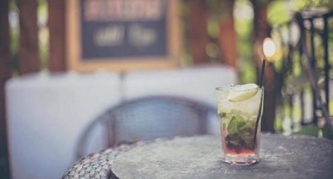 cocktail from pepper rocks in nottingham