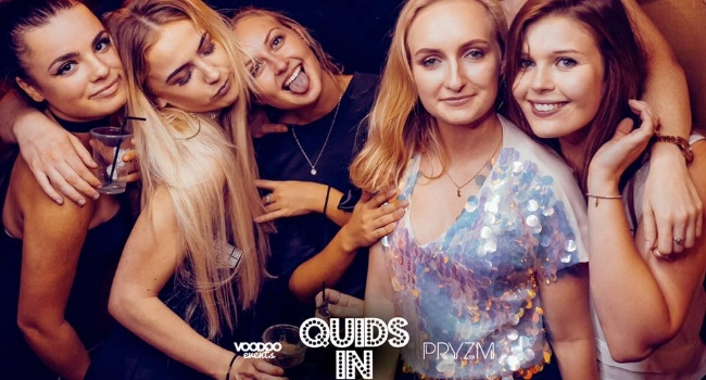 Group of people at Quids In at Pryzm