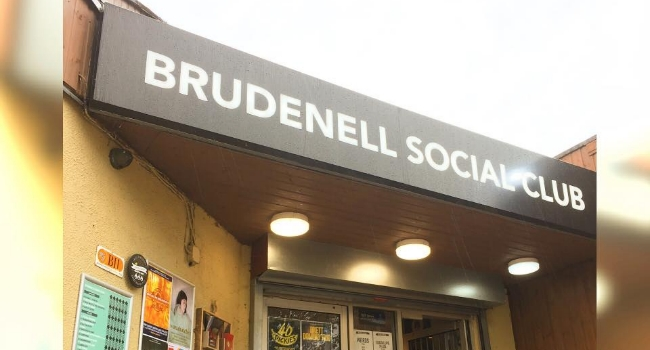 Image of outside of Brundell SOcial Club