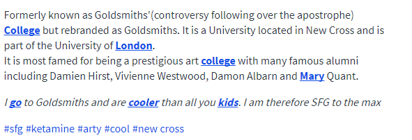 , What does Urban Dictionary say about your university?