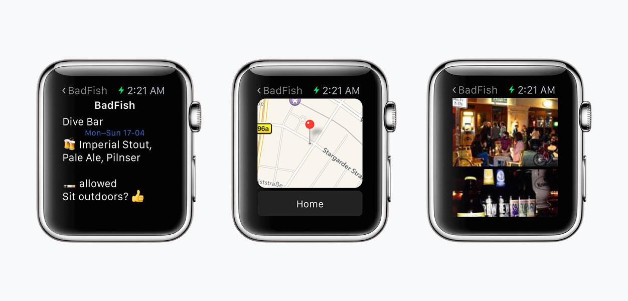 Meet Brew, the 1st Apple Watch app on Contentful