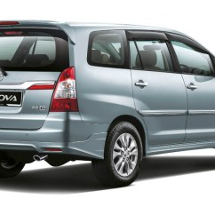 Harga All New Kijang Innova 2016 Type G Dimensi Service And Maintenance Schedule For Toyota Models Regular