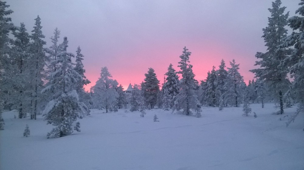 White Christmas In Lapland 50 Degrees North