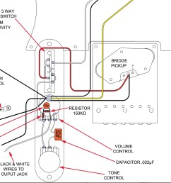 how a treble bleed circuit can affect your tone push pull pot wiring tone pot wiring diagram low cut [ 2594 x 2030 Pixel ]