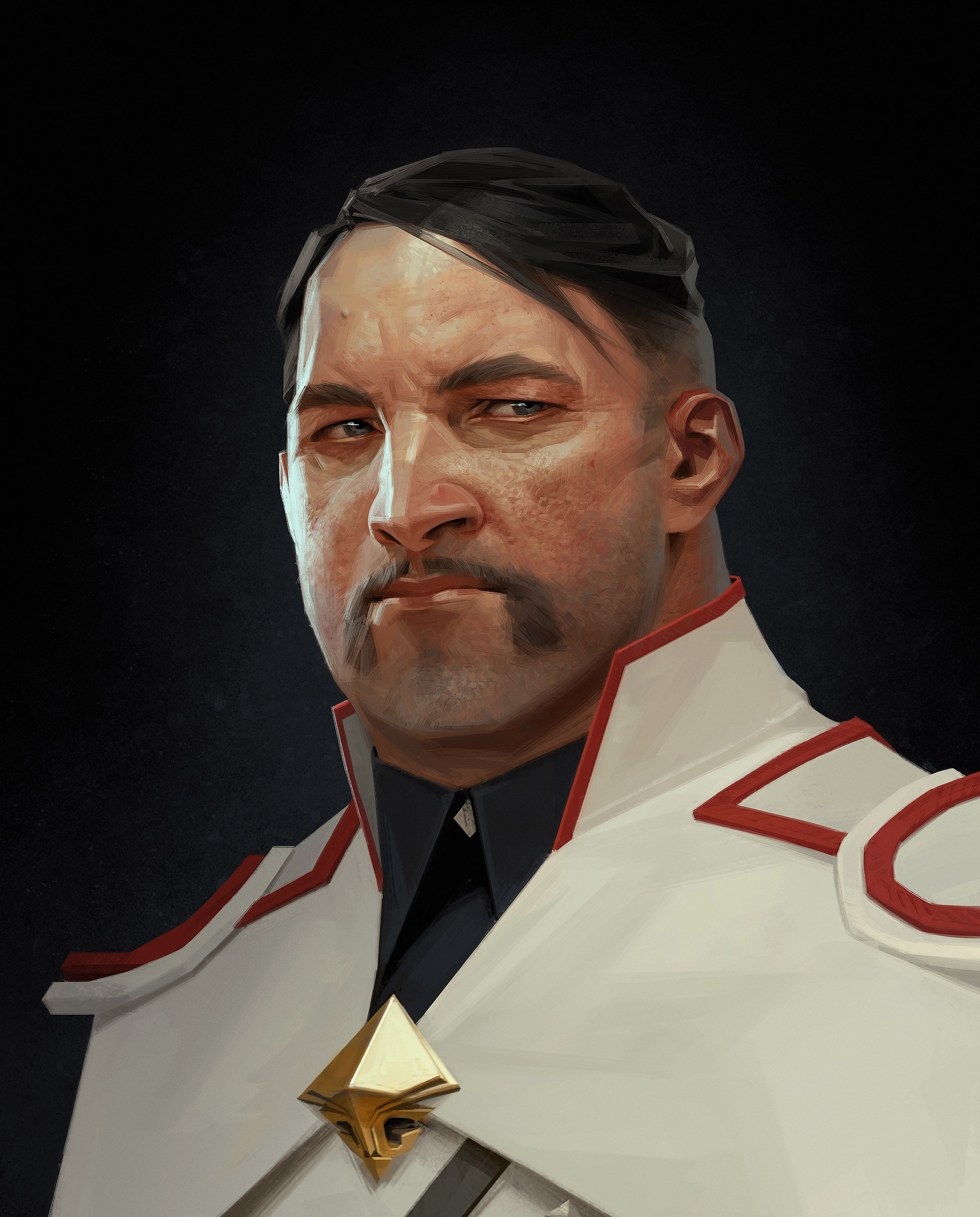 dishonored 2 character art