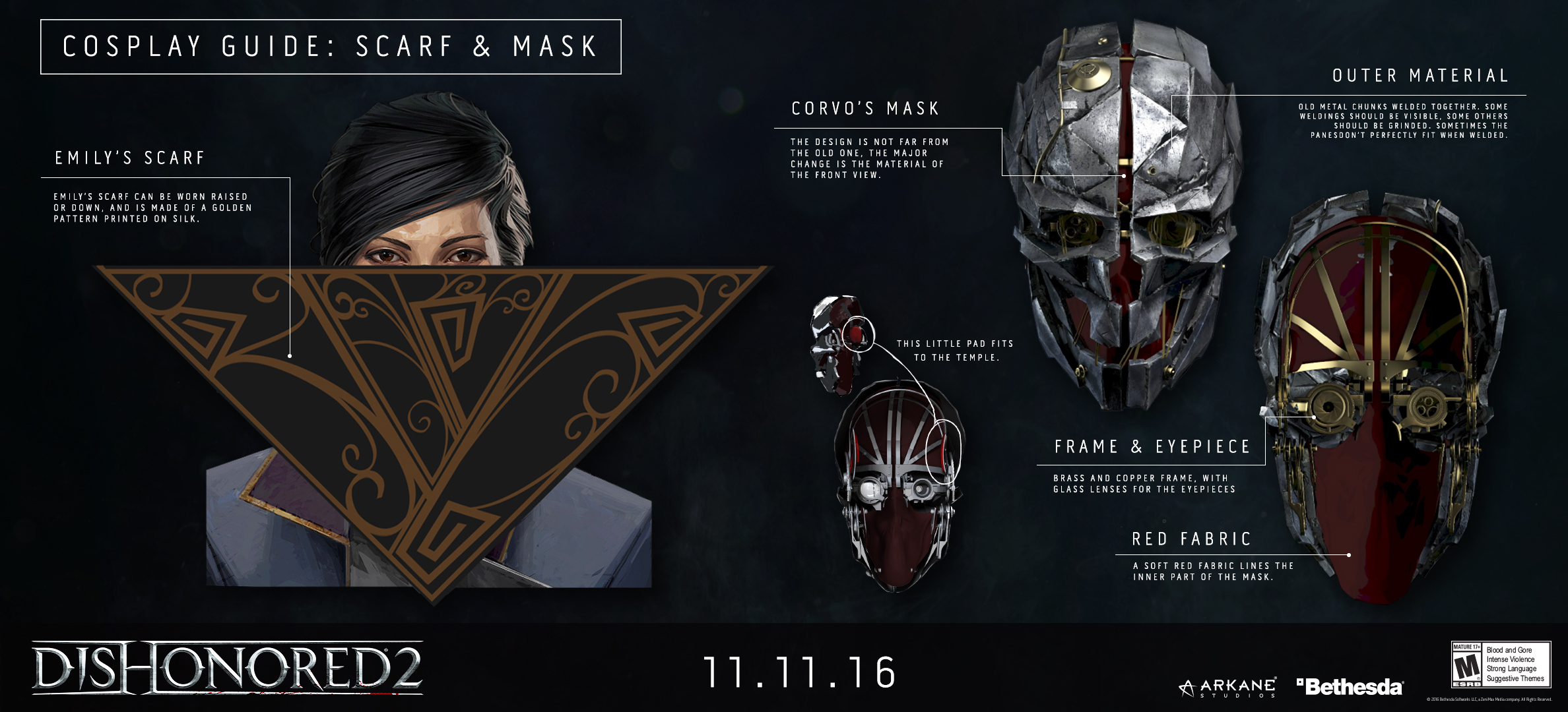 dishonored 2 character cosplay