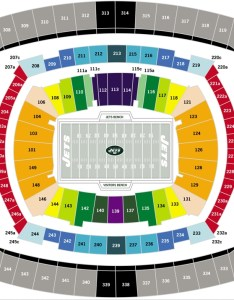 Interested in buying  new york jets seat license also seating chart at metlife stadium rh pslsource