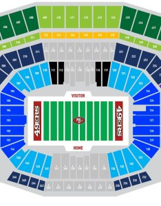 also san francisco ers seating chart at levi   stadium rh pslsource