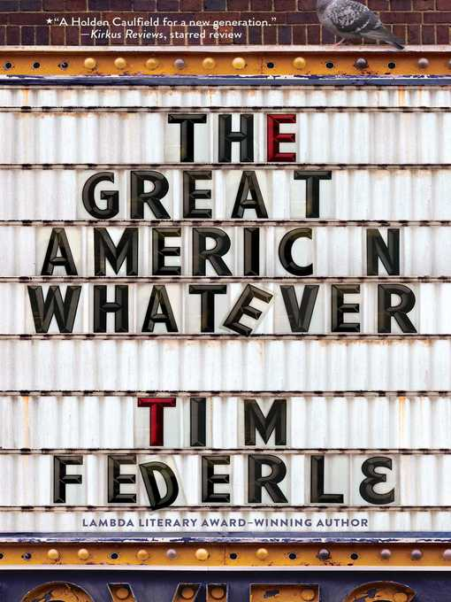 Cover image for The Great American Whatever
