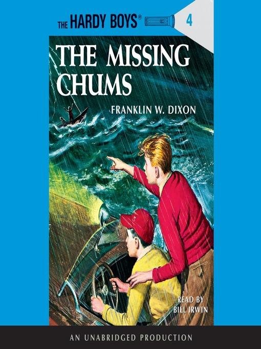 The Hardy Boys Franklin W. Dixon cover The Secret of the Missing Chums
