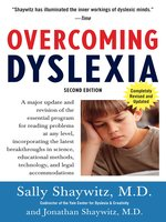 Click here to view eBook details for Overcoming Dyslexia by Sally Shaywitz, M.D.