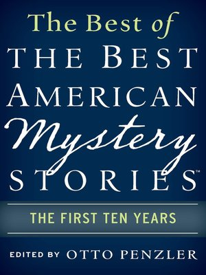 The Best Of The Best American Mystery Stories By Otto
