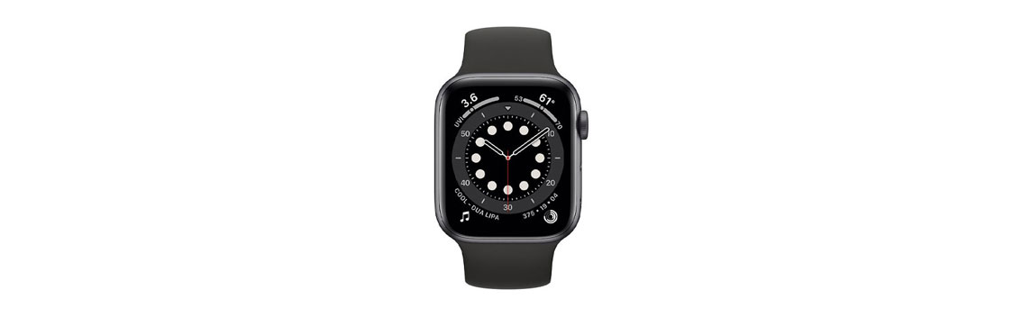 Apple Watch SE (GPS) 40mm Space Grey Aluminum Case with Black Sport Band | Best Buy Canada