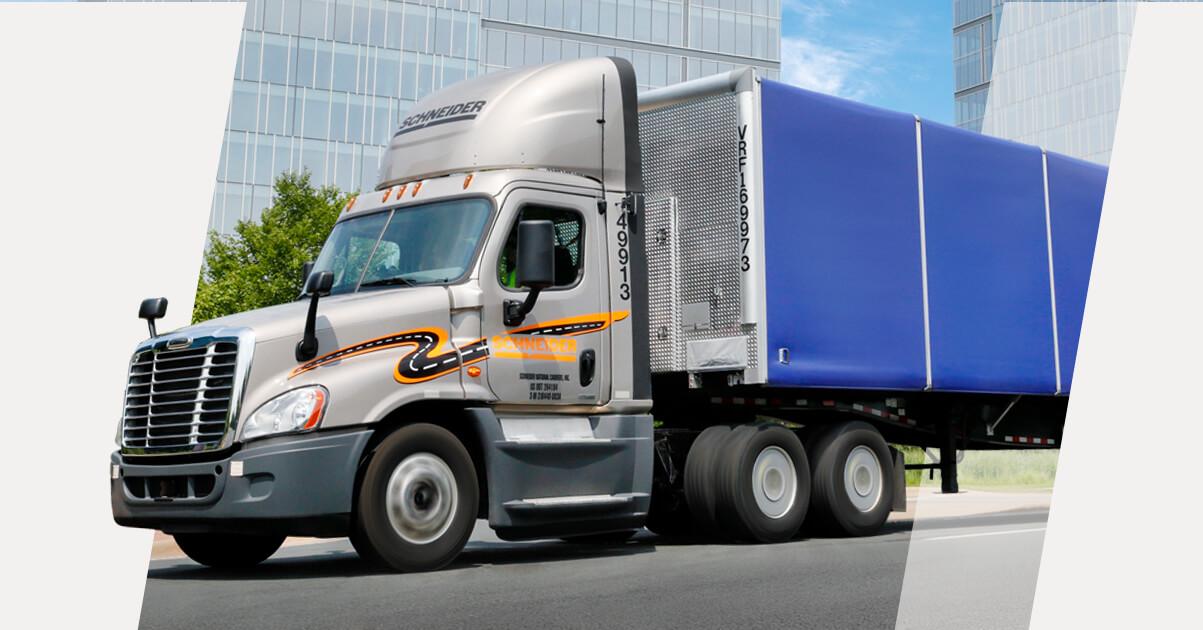 Dedicated Tanker nighttime truck driver - Nestlé   Top drivers earn $82.000   $5.000 sign-on bonus   Schneider