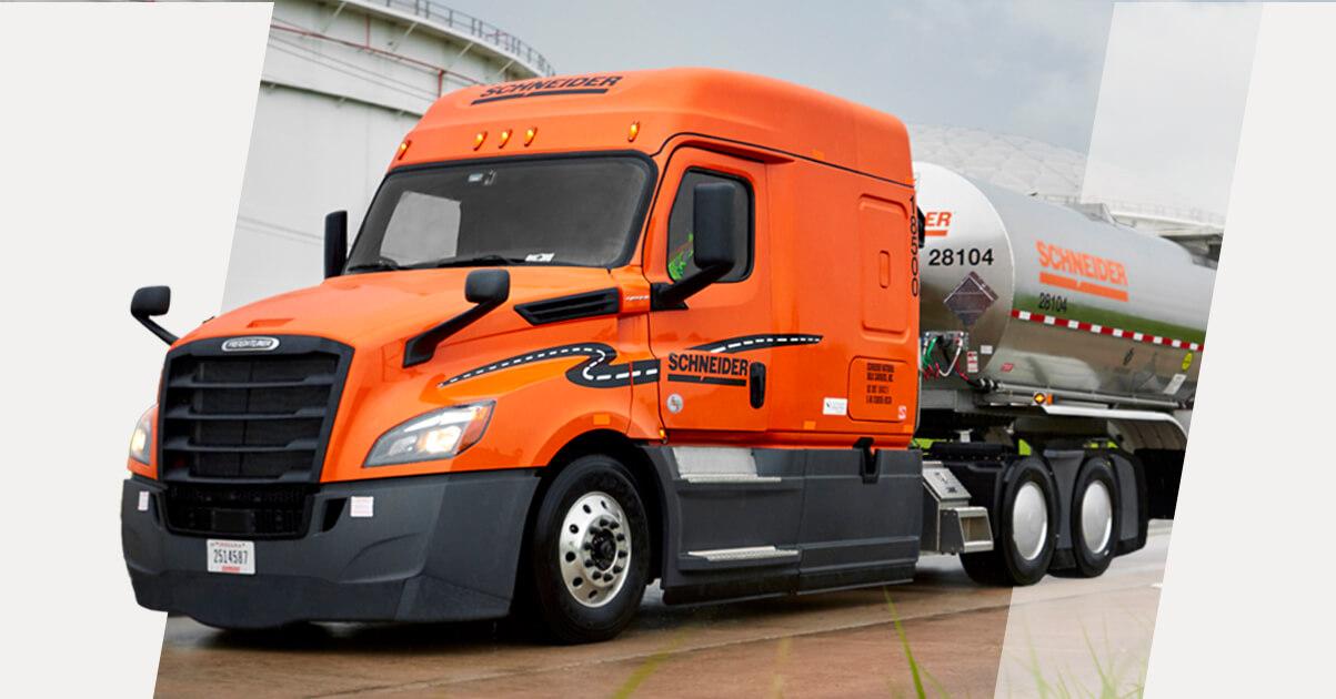 Regional Tanker truck driver   Top drivers earn $68.000   Up to $5.000 sign-on bonus   Schneider