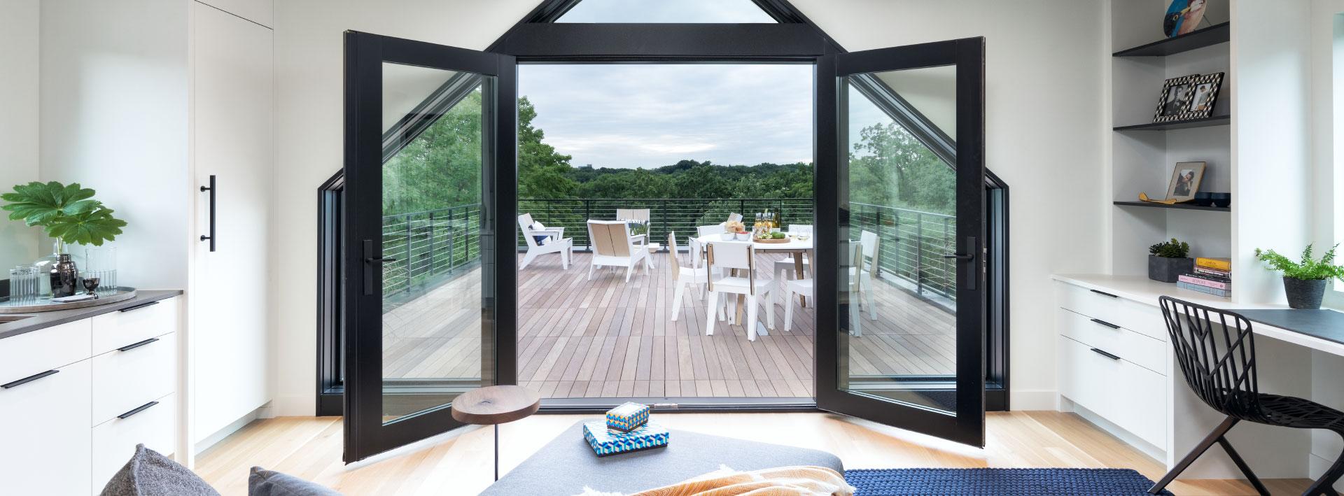 pella architect series wood patio