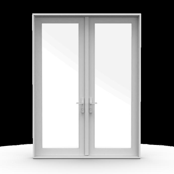 hinged french patio doors pella