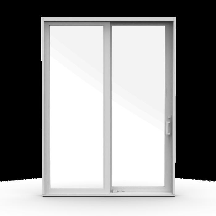 contemporary wood sliding patio doors