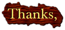 Thanks,