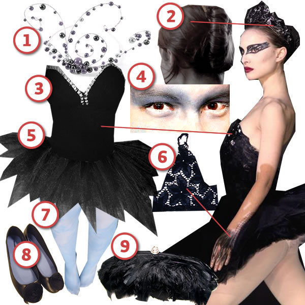 The Black Swan DIY The Look Cut Out Keep Craft Blog