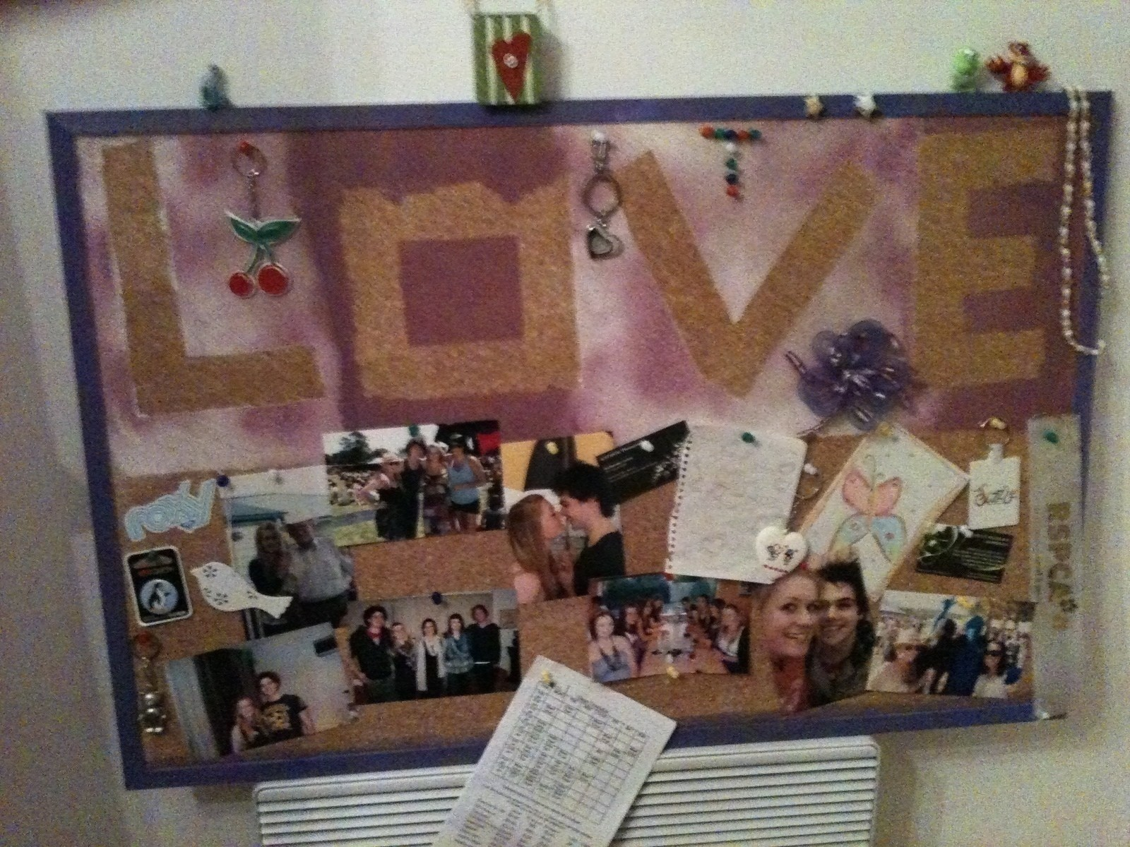 Painted Cork Board  How To Make A Corkboard  Spray Painting and Decorating on Cut Out  Keep