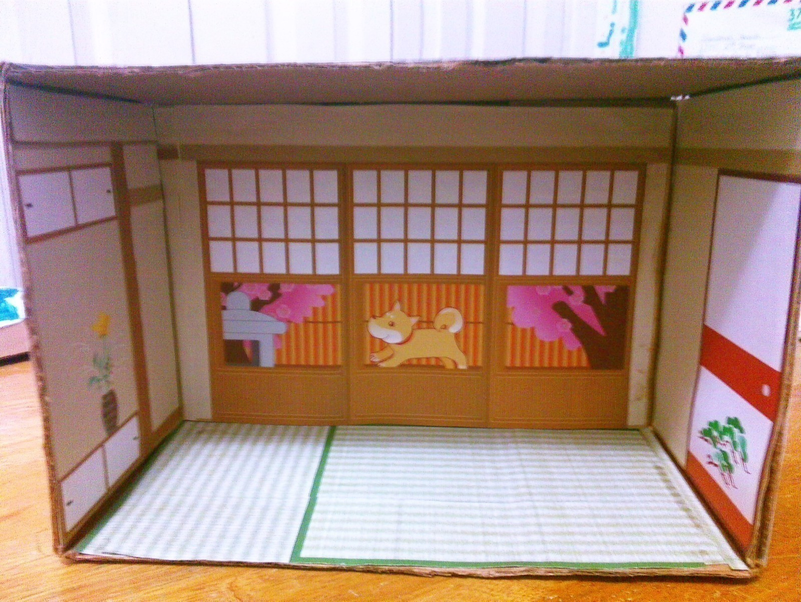Japanese Paper House Diorama  A Dolls House  Decorating and Papercraft on Cut Out  Keep