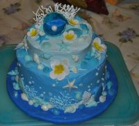 Under The Sea Cake  How To Decorate An Animal Cake  Art ...