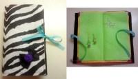 Felt Earring Book  How To Make An Earring Hanger  Sewing ...