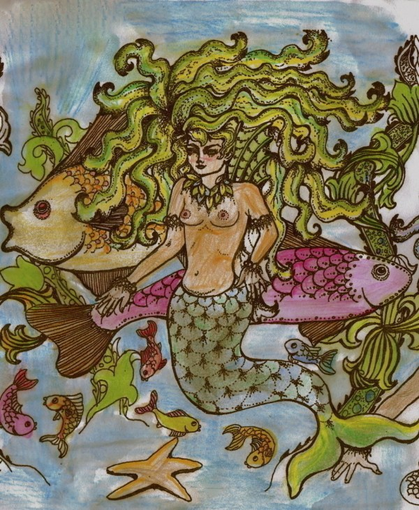 Mermaid Contest Drawing Art And Decorating Cut