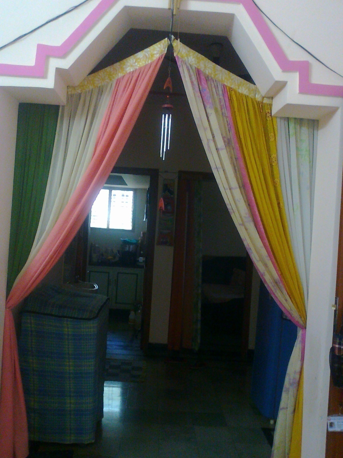 Dupatta Curtain  A CurtainBlinds  Art Decorating and