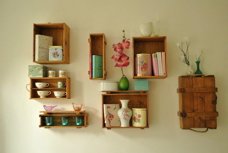Winebox Shelves  How To Make A Wall Shelf  Woodwork on