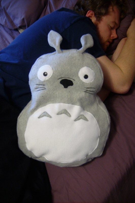 Totoro Pillow Plushy  How To Make A Bear Plushie