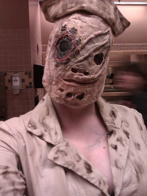 My Silent Hill Nurse Costume  A Nurse Costume  Dyeing Sewing and Dressmaking on Cut Out  Keep