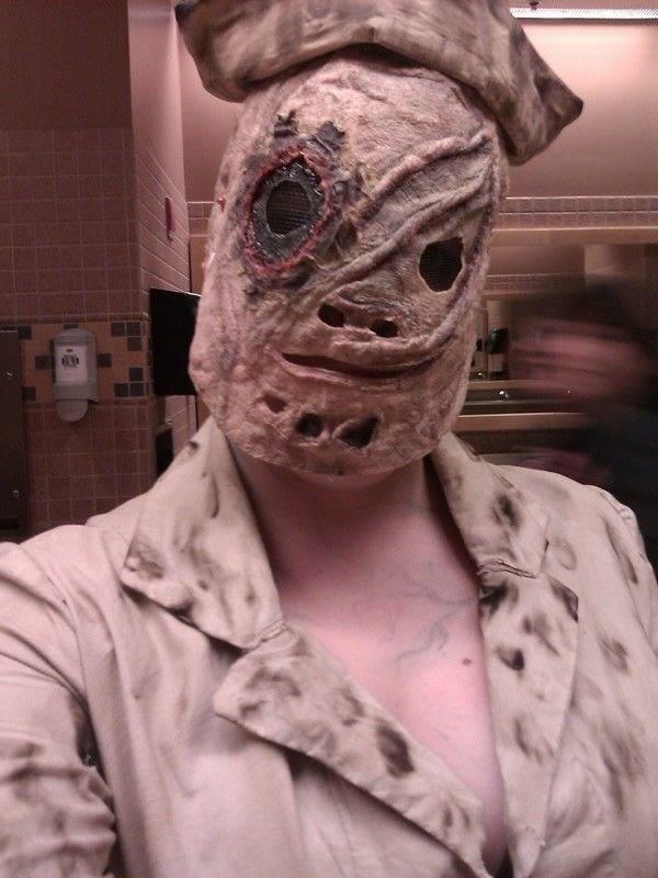 My Silent Hill Nurse Costume  A Nurse Costume  Dyeing