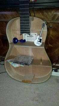 Acoustic Guitar Shelf A Shelf Decorating And Woodwork
