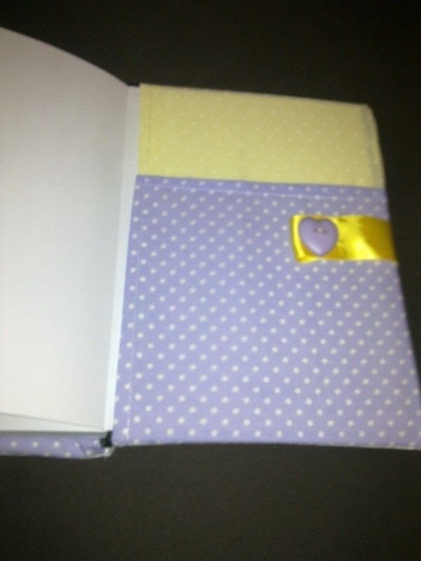 Cute Notebook Cover A Book Cover Embroidery And Sewing