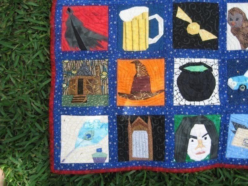 Harry Potter Quilt 183 A Patchwork Quilt 183 Patchwork
