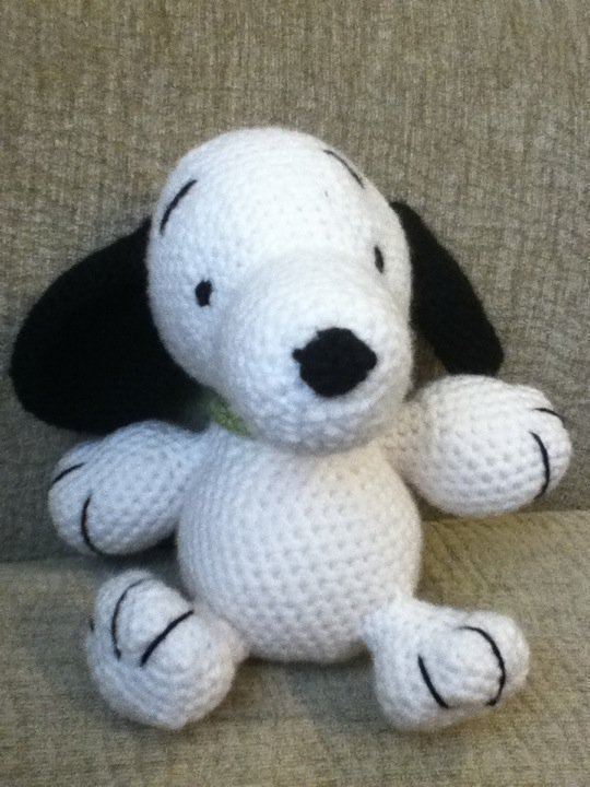 Crochet Snoopy  A Beagle Plushie  Crochet and Amigurumi