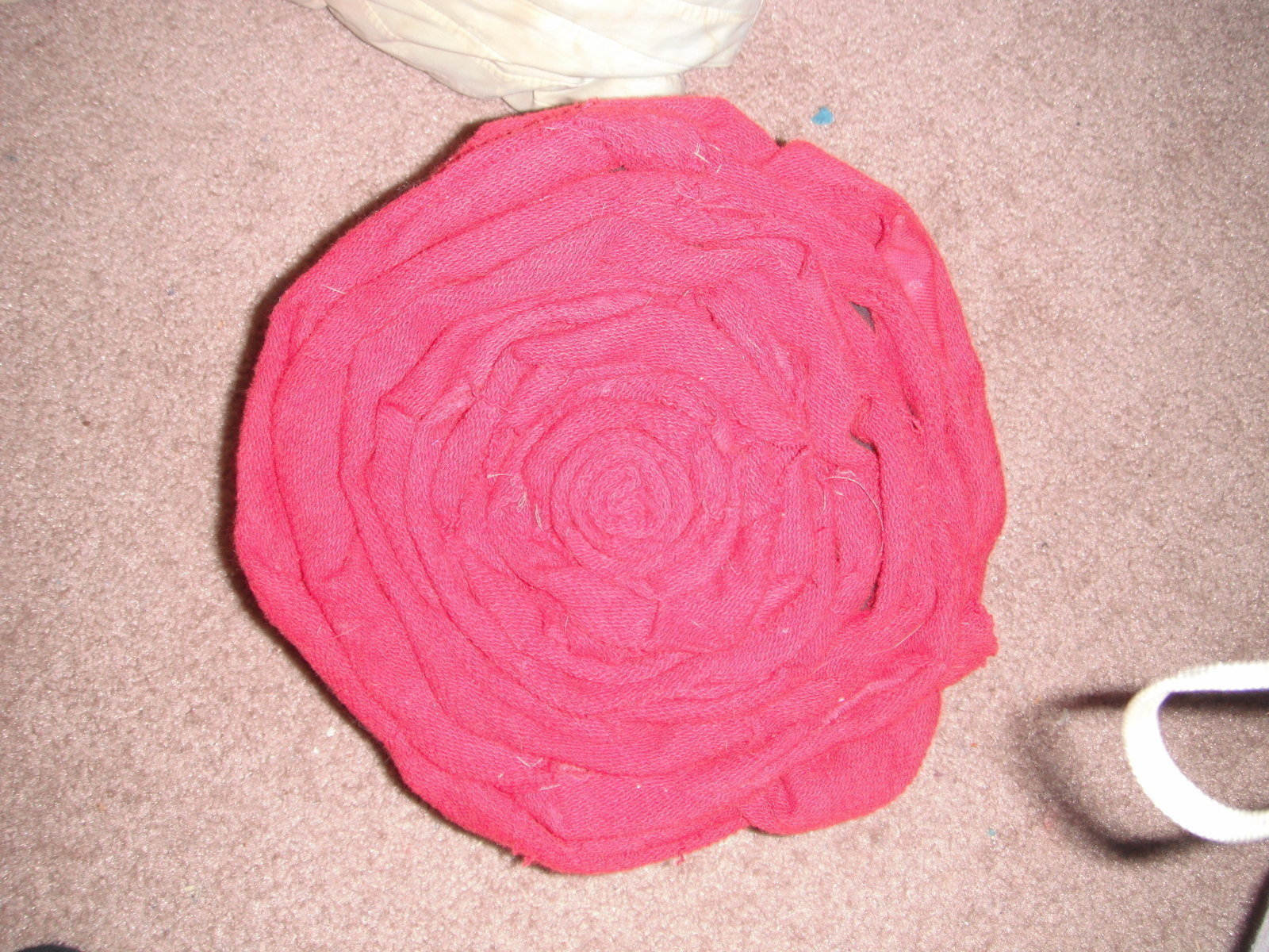 Rose Throw Pillows  A Shaped Cushion  Needlework on Cut