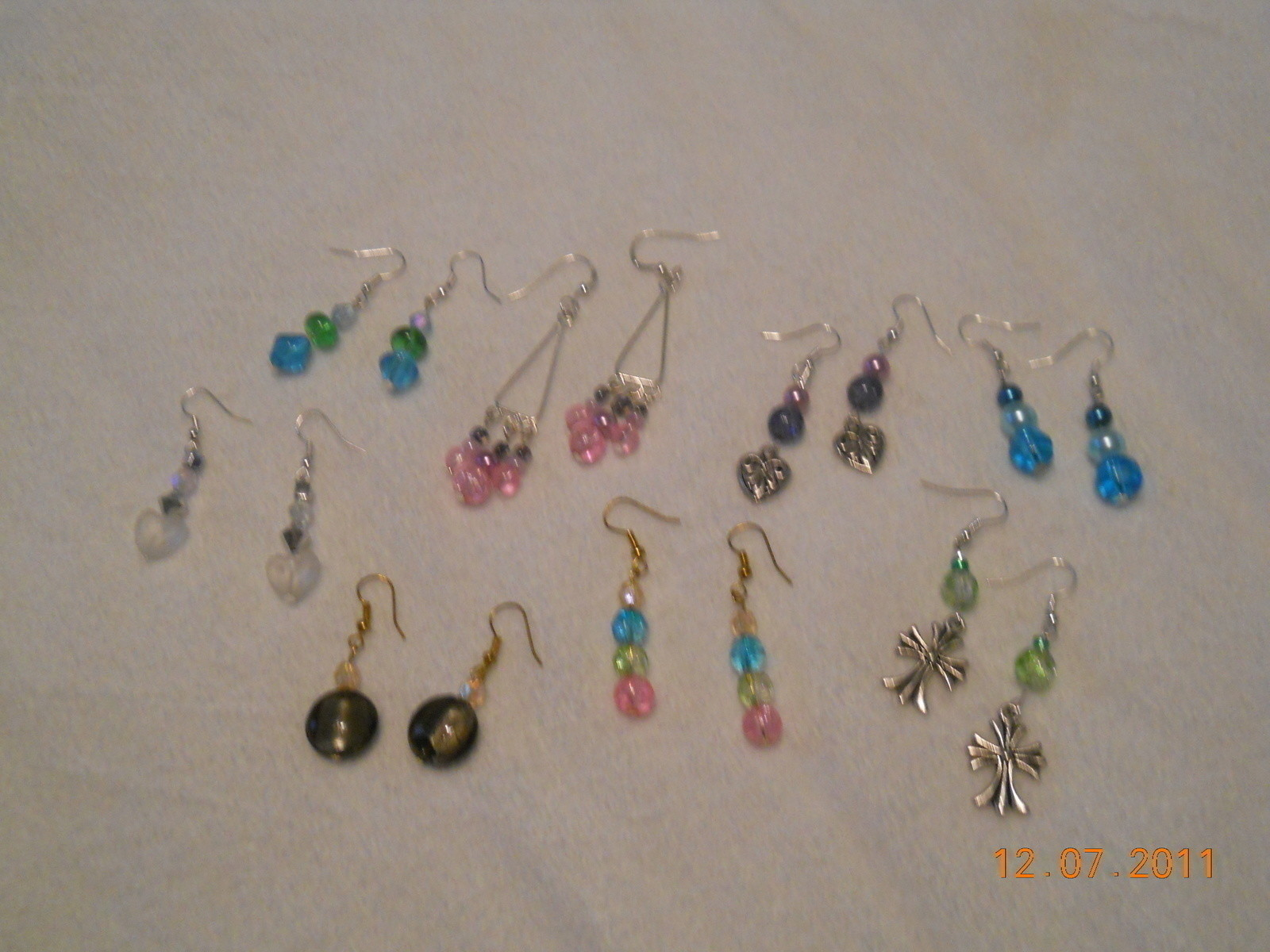 Collection Of Homemade Earrings 183 A Dangle Earring