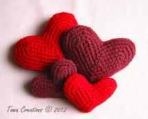 Easy Crochet Heart Pattern And Video Tutorial Amigurumi Year Of